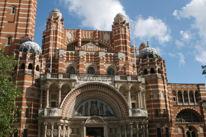 Catedral do Reino Unido, Londres, Westminster fotografia de stock royalty free