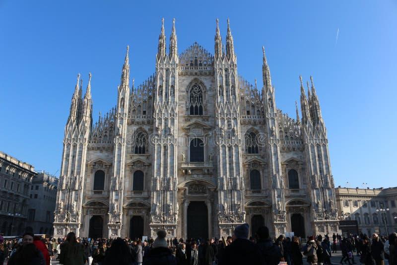 Catedral do ` s de Milão, Itália foto de stock royalty free