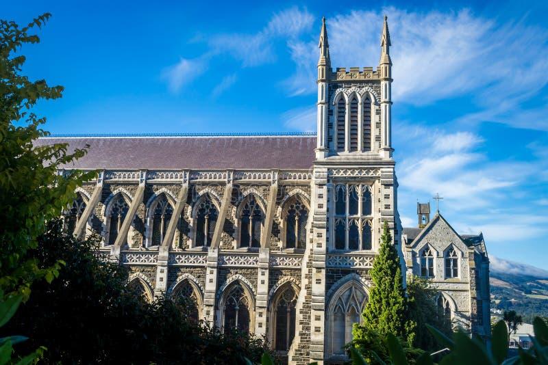 Catedral do ` s de St Joseph, Dunedin, Nova Zelândia fotografia de stock royalty free