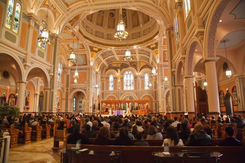 Catedral do Sacrament abençoado foto de stock