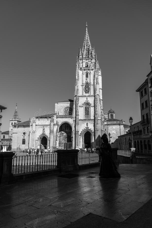 A catedral do San Salvador fotografia de stock royalty free