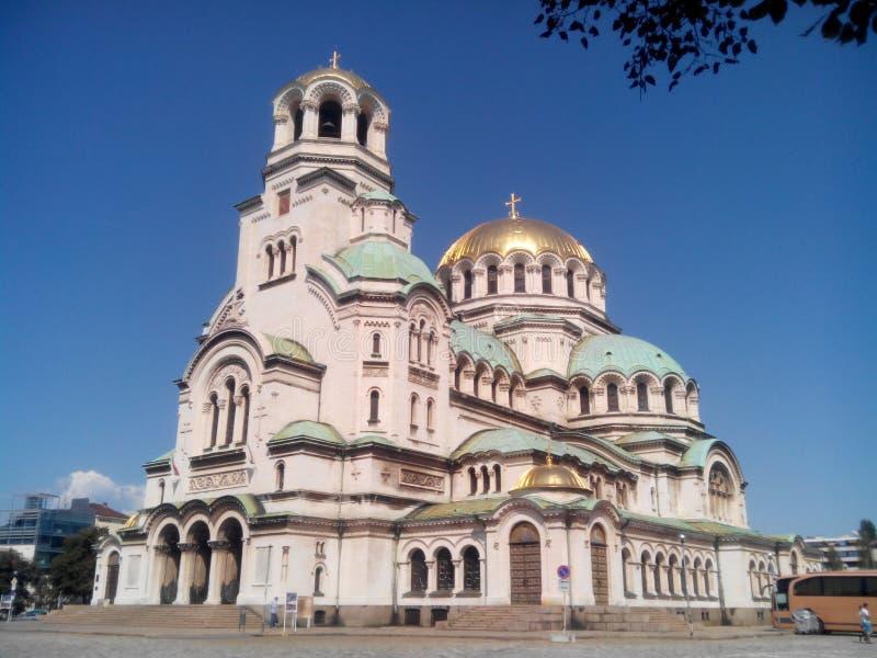 Catedral do St Alexander Nevsky fotos de stock royalty free