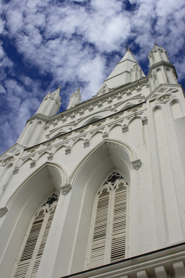 Catedral do St Andrew fotografia de stock royalty free