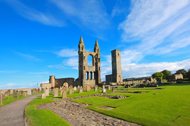 Catedral do St Andrews fotografia de stock royalty free