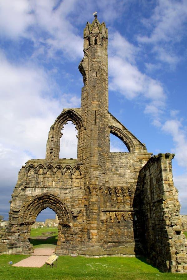 Catedral do St Andrews - Fife - Scotland fotografia de stock royalty free