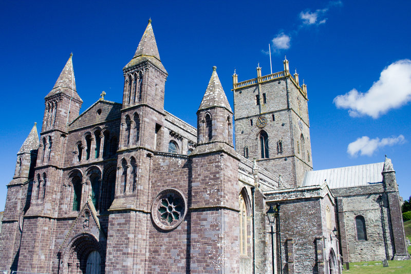 Catedral do St David imagem de stock royalty free