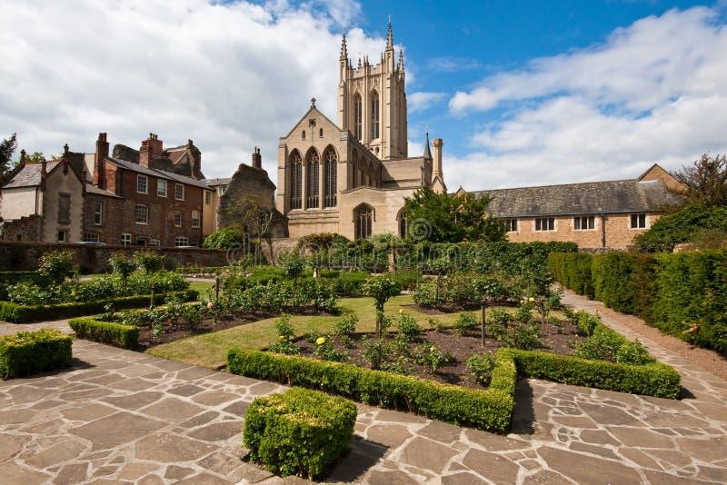 Catedral do St Edmundsbury fotografia de stock royalty free