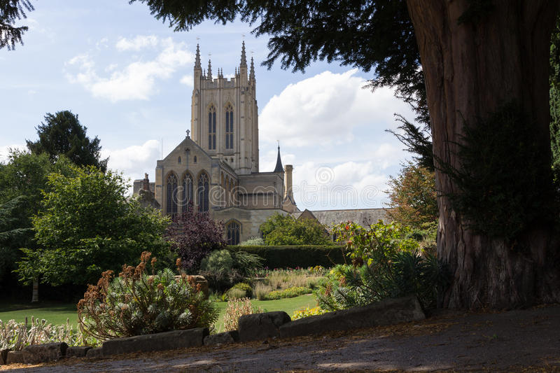 Catedral do St Edmundsbury fotos de stock