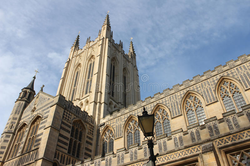 Catedral do St Edmundsbury, Suffolk fotos de stock royalty free