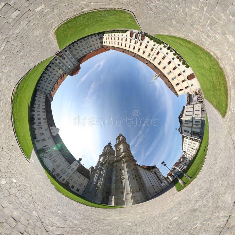 Catedral do St. Gallen imagem de stock