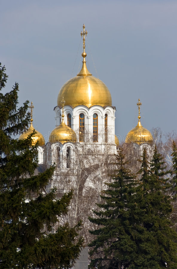 Catedral do St. george imagens de stock