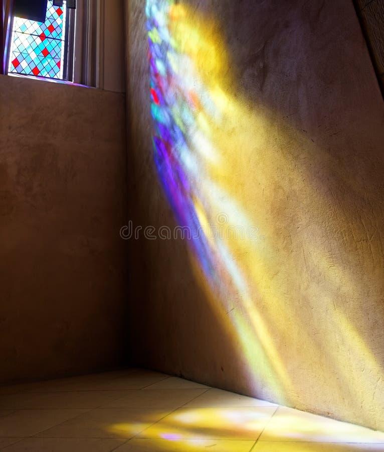 Catedral do St Giles de vidro manchado do indicador. Reino Unido. fotos de stock royalty free