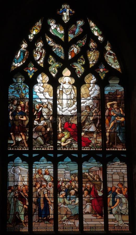 Catedral do St Giles em Edimburgo Scotland. Reino Unido. fotos de stock royalty free