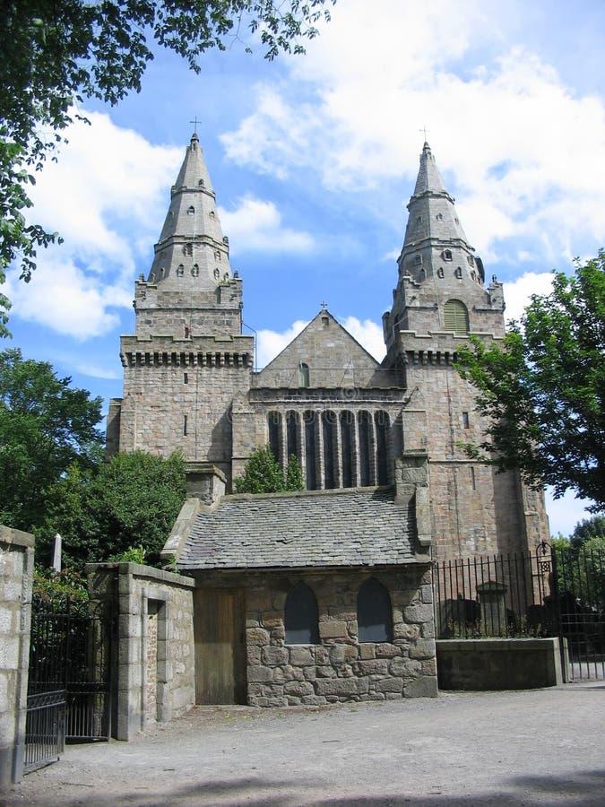 Catedral do St Machars, Aberdeen imagens de stock royalty free