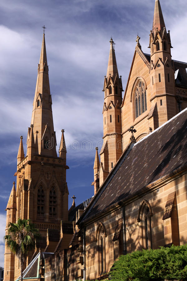 Catedral do St. Mary. Sydney imagem de stock royalty free