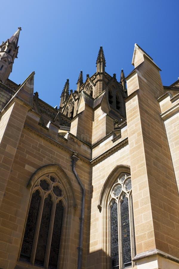 Catedral do St. Mary, Sydney imagem de stock