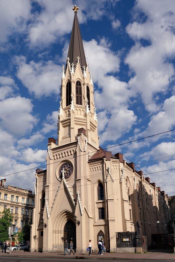 Catedral do St Michaels em St Petersburg, Rússia foto de stock