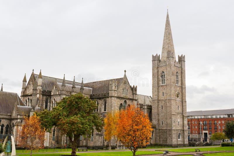 Catedral do St. Patrick. Dublin, Ireland foto de stock