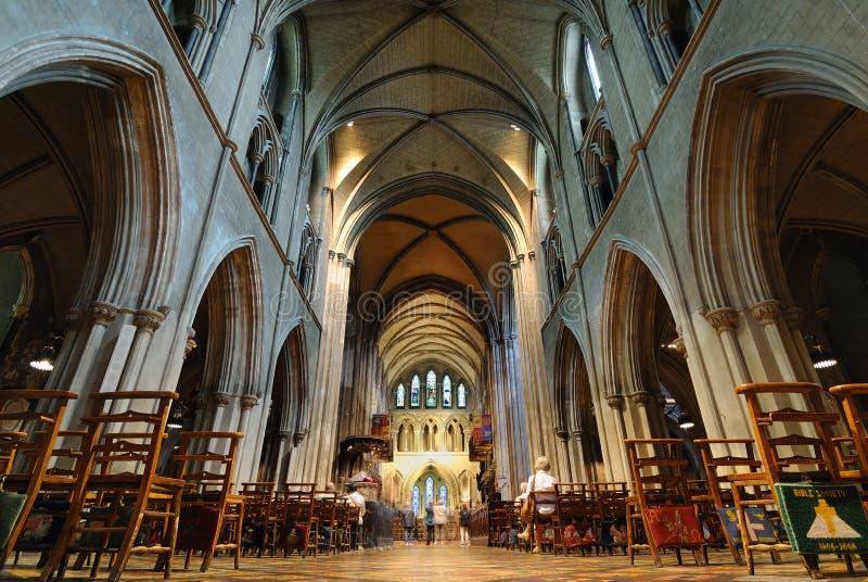 Catedral do St. Patrick em Dublin, Ireland imagens de stock
