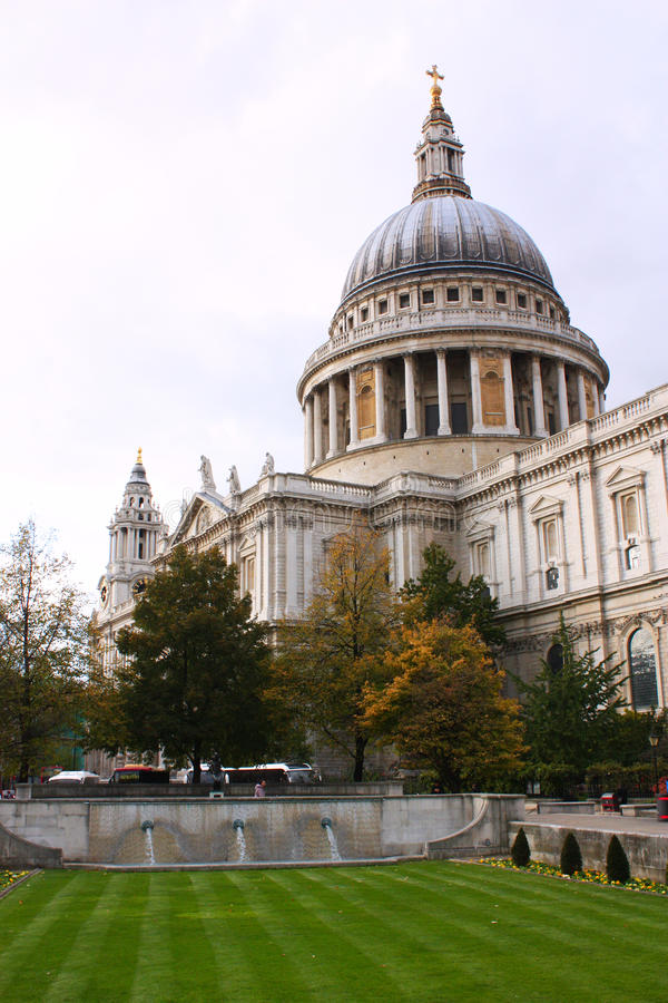 Catedral do St Paul imagem de stock