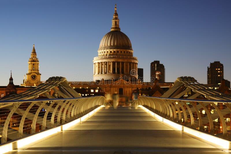 Catedral do St. Paul em Londres foto de stock royalty free