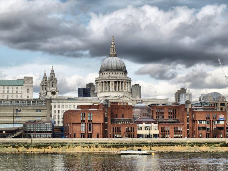 Catedral do St Paul, Londres fotos de stock