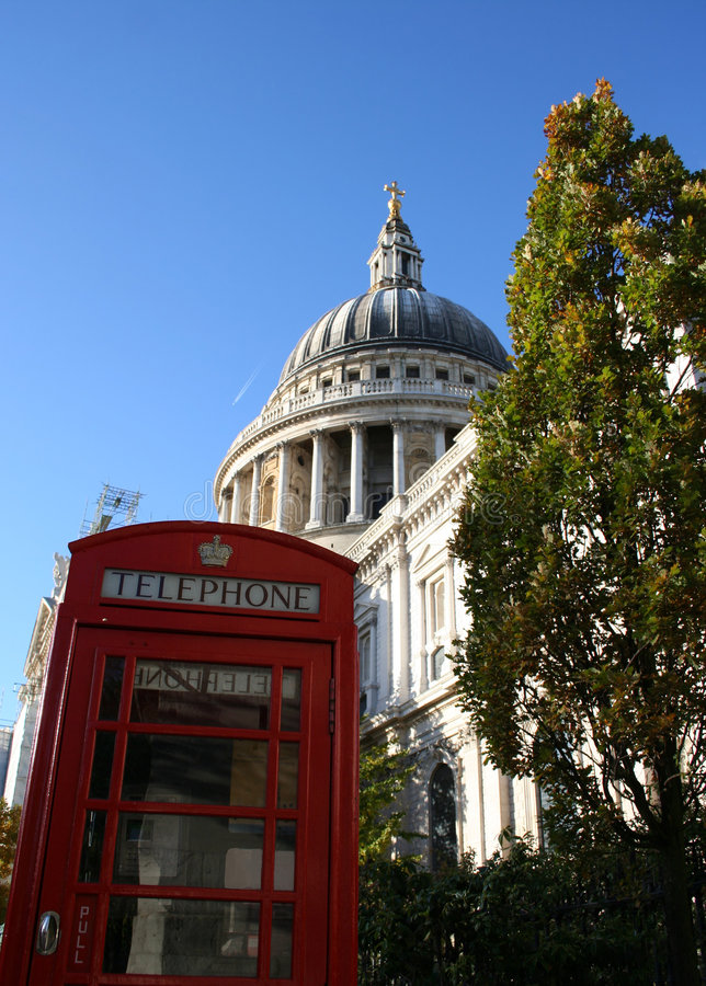 Catedral do St Paul, Londres fotografia de stock