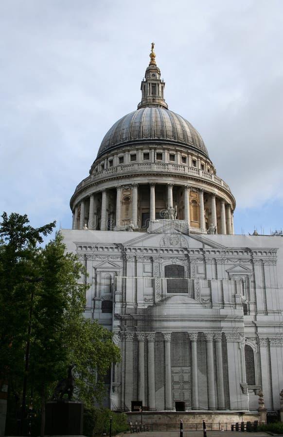Catedral do St Paul, Londres fotografia de stock royalty free