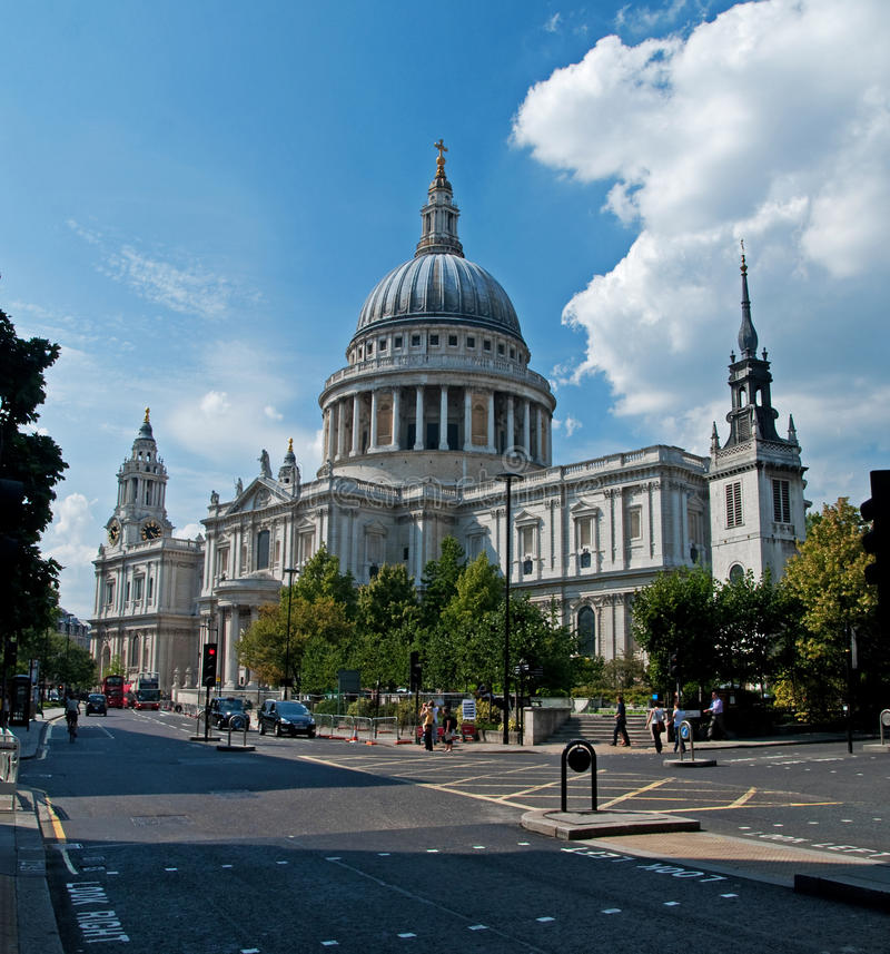 Catedral do St Pauls foto de stock
