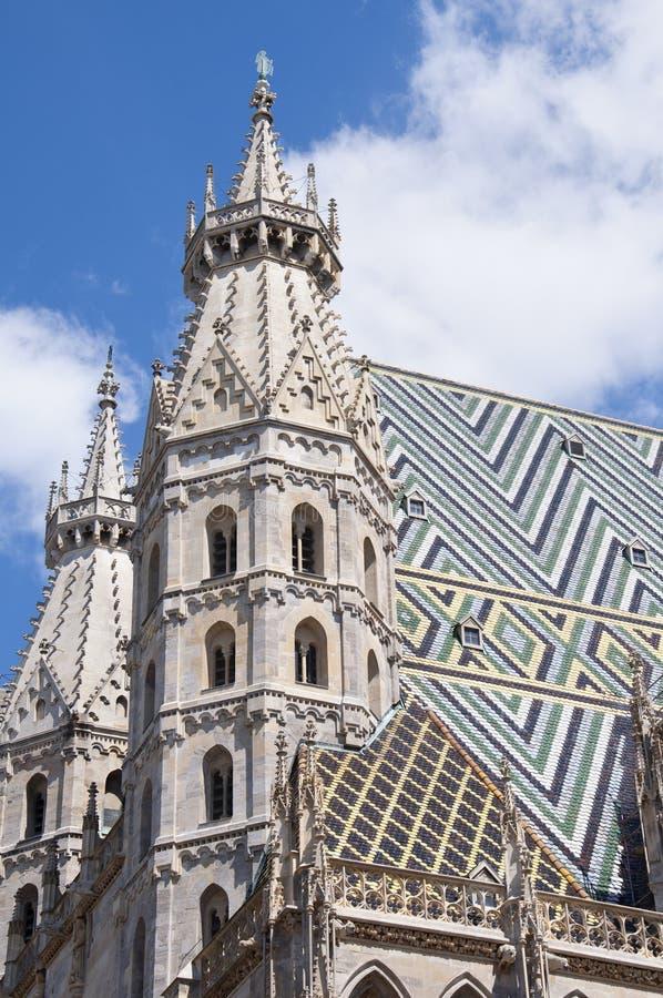 Catedral do St Stephan em Viena foto de stock