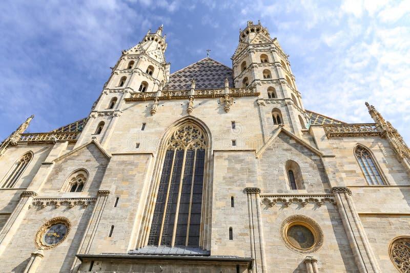 Catedral do St Stephens em Viena, Áustria fotografia de stock royalty free