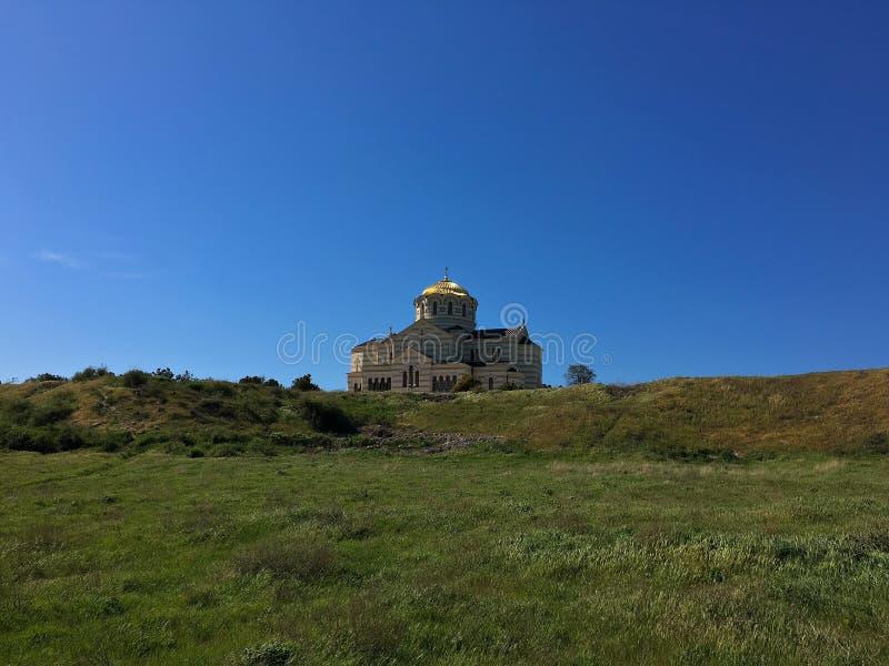 Catedral do St Vladimir fotos de stock royalty free