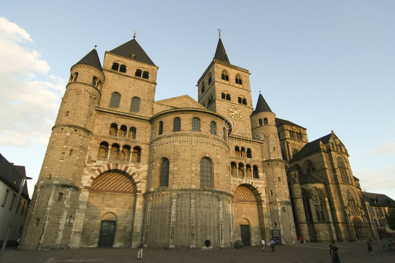 Catedral do Trier imagem de stock