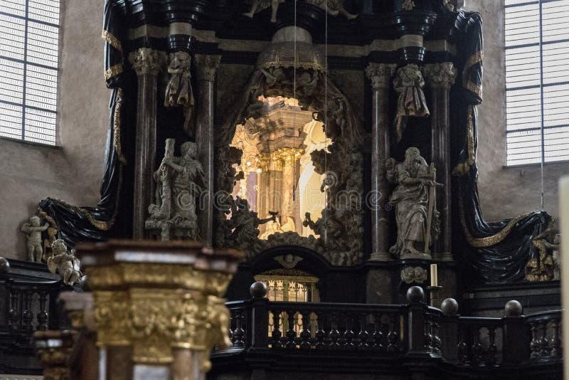 Catedral do Trier, Alemanha fotografia de stock
