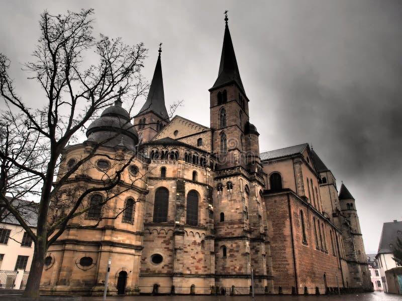 Catedral do Trier - Alemanha imagem de stock