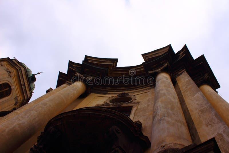 Catedral dominiquense fotografia de stock royalty free