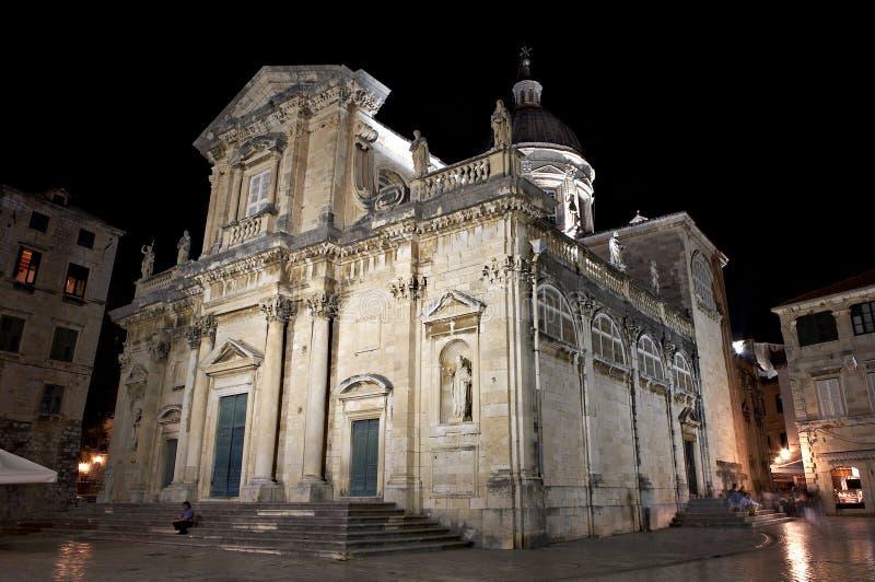 Catedral - Dubrovnik, Croatia. fotografia de stock royalty free