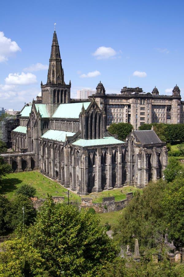 Catedral e necrópolis do Mungo do St de Glasgow imagem de stock royalty free