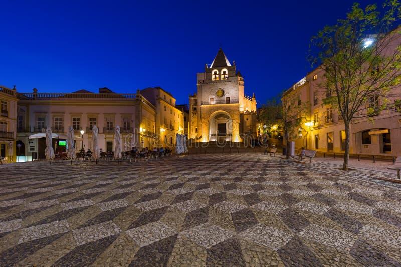 Catedral - Elvas Portugal fotos de archivo libres de regalías