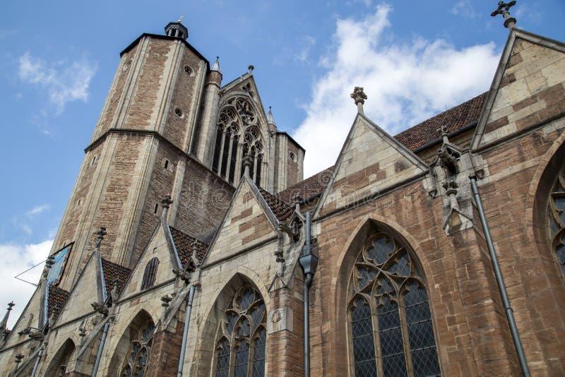 Catedral em Bransvique, Alemanha fotos de stock royalty free