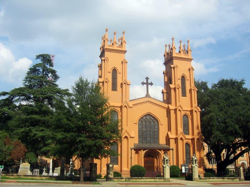 Catedral em Colômbia, SC foto de stock