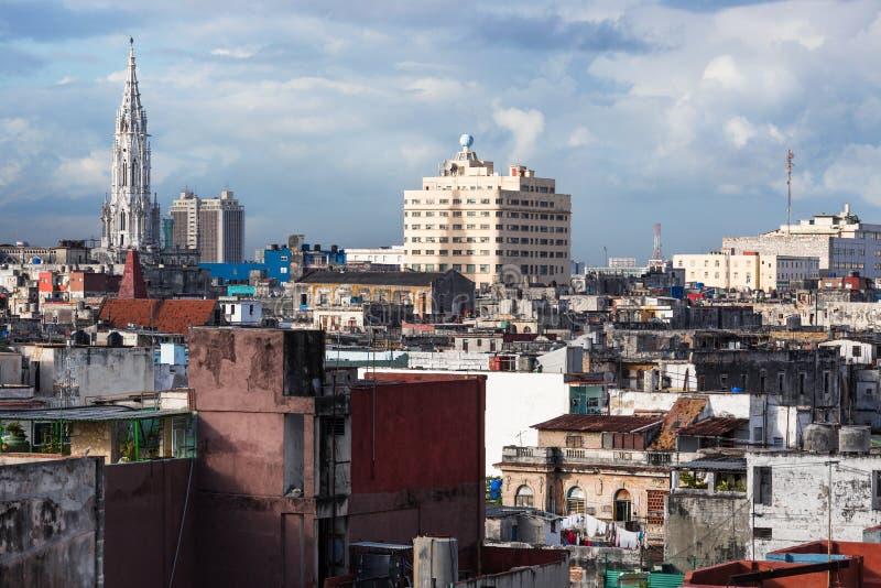 Catedral em Havana foto de stock royalty free