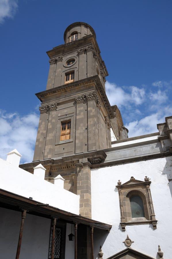Catedral em Las Palmas de Gran Canaria imagem de stock royalty free
