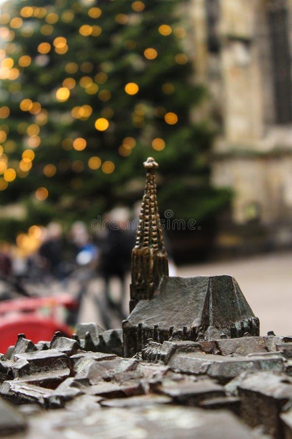 Catedral em Münster fotos de stock royalty free
