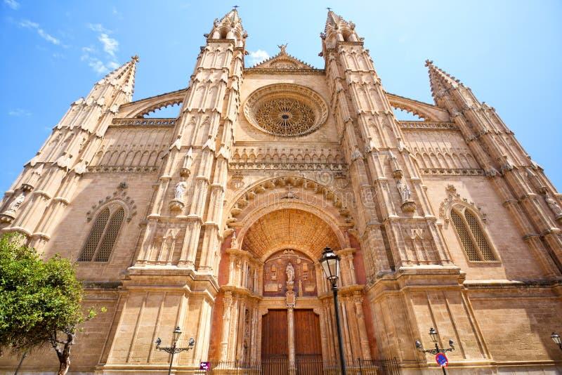 Catedral em Palma de Mallorca foto de stock royalty free