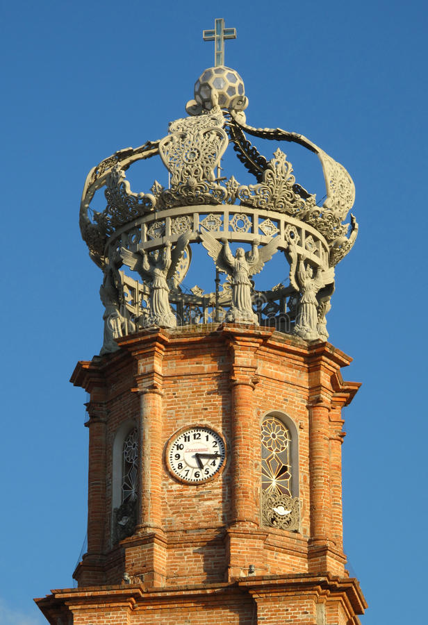 Catedral em Puerto Vallarta, México imagem de stock royalty free