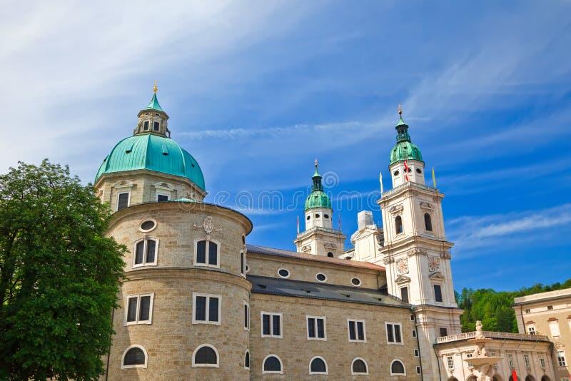 Catedral em Salzburg imagem de stock
