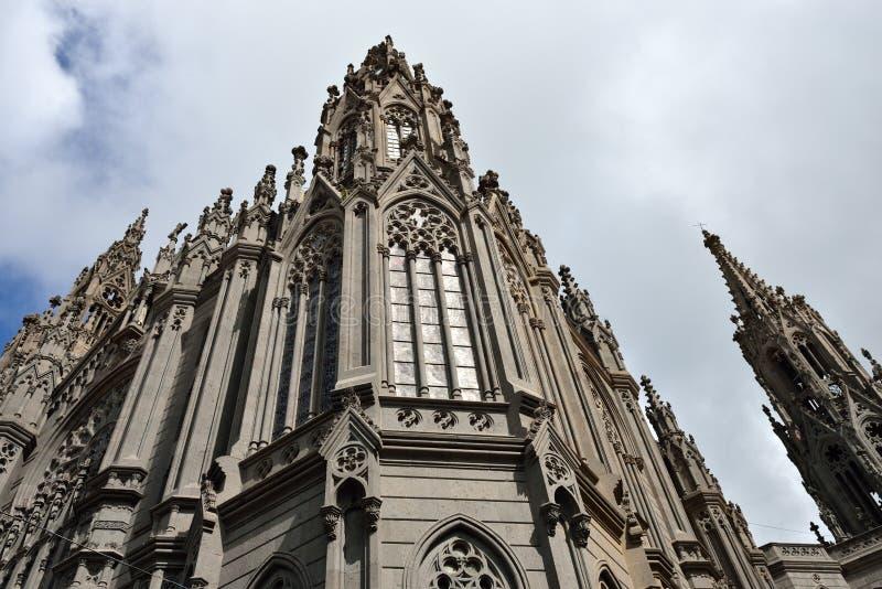 Catedral en Arucas imágenes de archivo libres de regalías