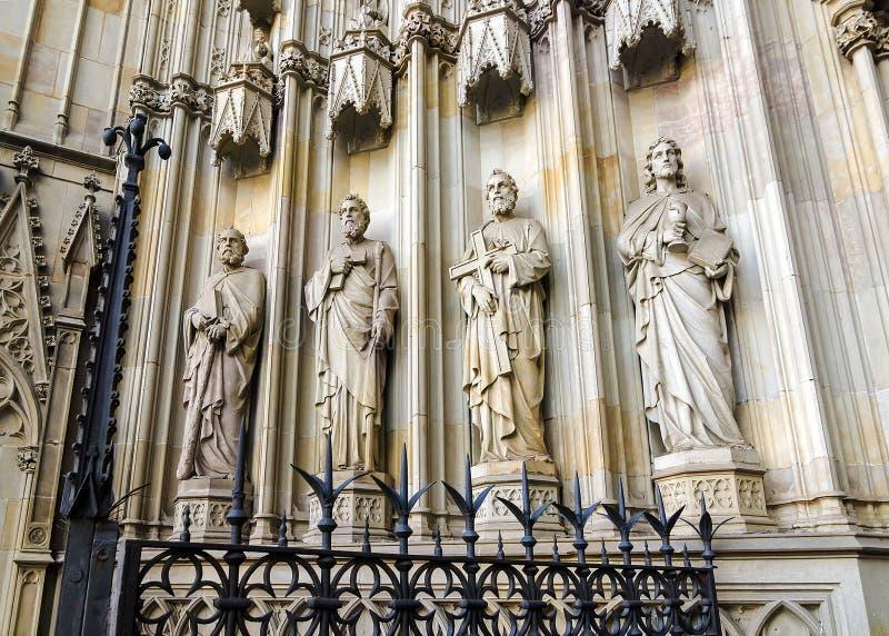 Catedral en Barcelona fotos de archivo