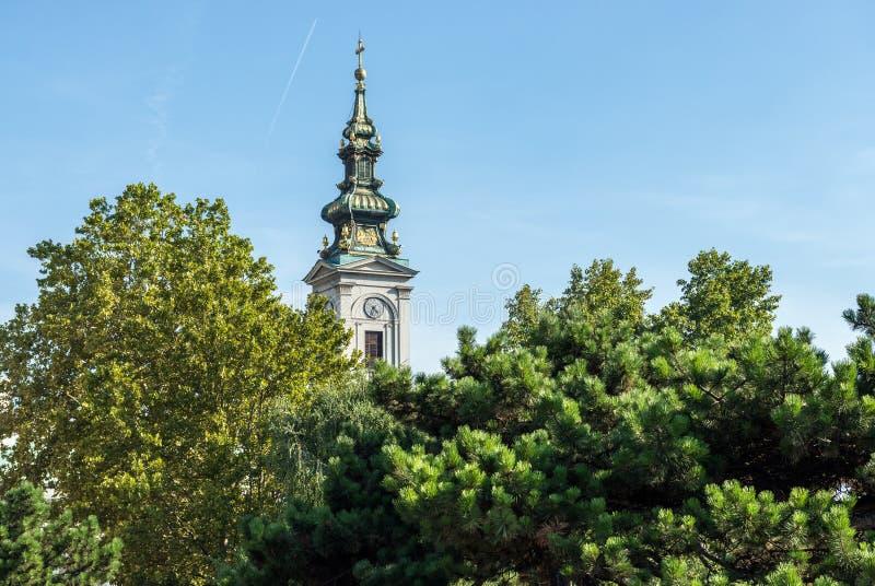 Catedral en Belgrado imagen de archivo libre de regalías